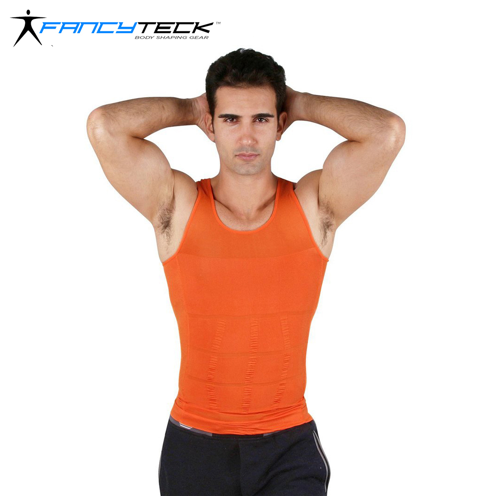 9 colors Men 39 s Vest Summer Sleeveless Body Building Body Sculpting Shirts Men O Neck Comfort and Leisure Tops Slimming in T Shirts from Men 39 s Clothing