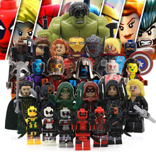 Avenger Super Hero Compatible with LegoINGly Marvel Building Blocks Batman Spiderman Civil War X Men Hulk