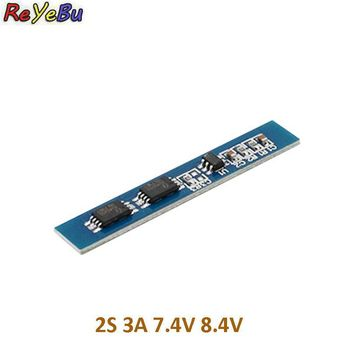 7.4v 8.4V 18650 Charging Protection Board 2S 3A Li-ion Lithium Battery bms pcm for li-ion lipo battery cell pack