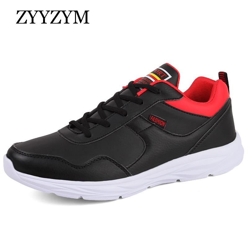 ZYYZYM Men Casual Shoes Spring Autumn Lace-Up Top Fashion Sneakers Light Man Walking Tourism Shoes