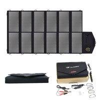Все мощность S панели солнечные 80 Вт кемпинг складной зарядное устройство на солнечных батареях USB портативный запасные аккумуляторы для те
