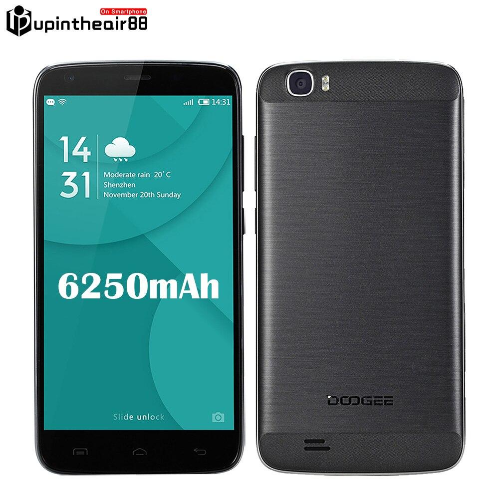 Original DOOGEE T6 Pro 6250mAh font b Mobile b font font b Phone b font 4G