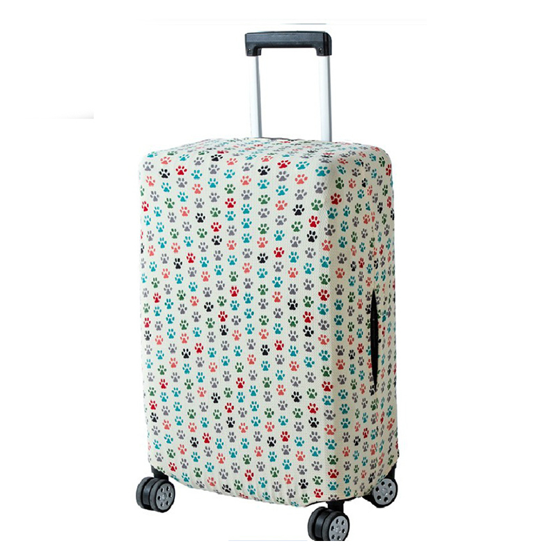 JULY'S SONG Luggage Protection Cover Trolley Case Dustproof Elastic Luggage Cover Travel Accessories For 18-32 Inch Suitcase
