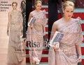 El envío libre 2016 nueva moda de lujo crystal vestidos largos elegante Estilo de la Estrella de un hombro partido vestido de noche vestidos de la celebridad