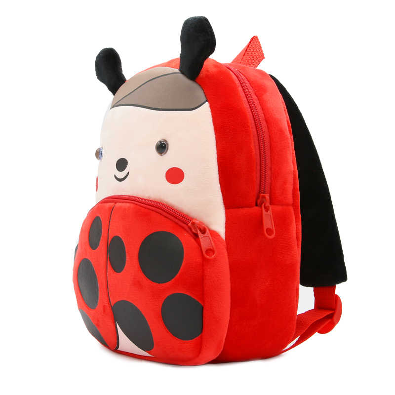 Crianças de pelúcia mochilas crianças do jardim de infância sacos de escola bonito crianças sacos de bebê modelo animal mochilas para meninos meninas drop shipping g