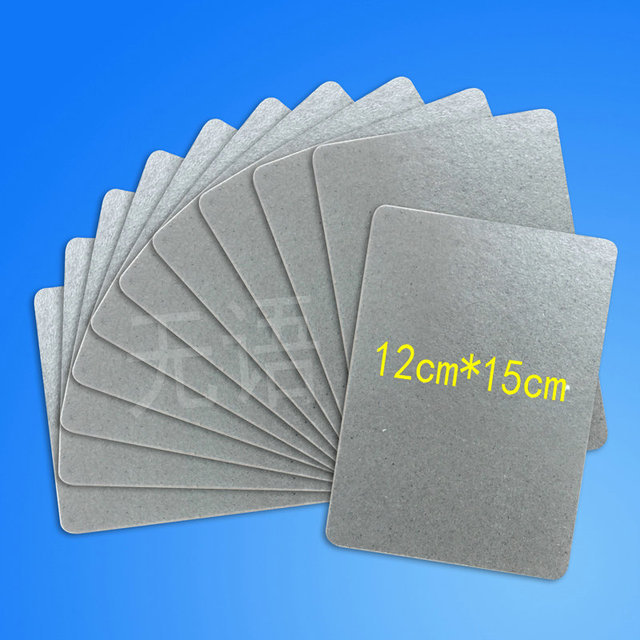 11pcs High Quality Microwave Oven Repairing Part 150 X 120mm Mica Plates Sheets