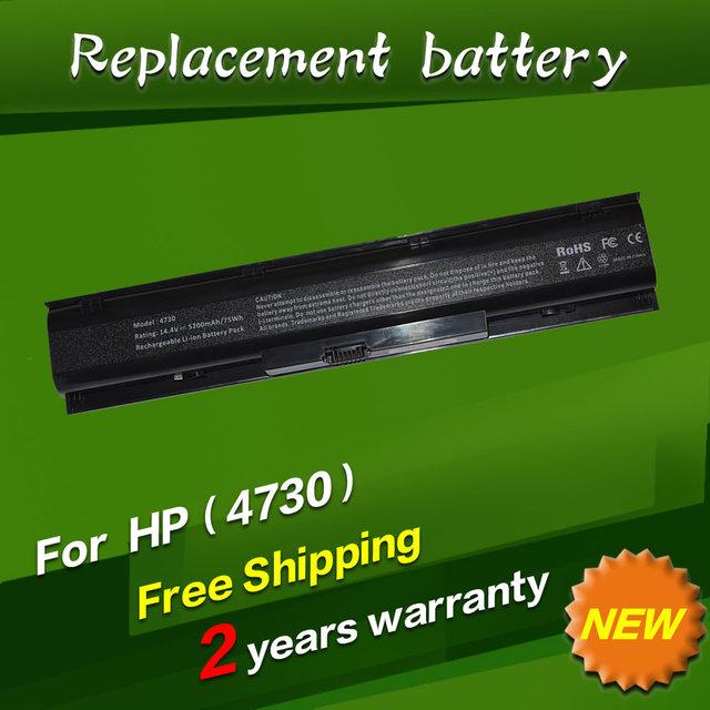 Jigu batería del ordenador portátil para hp 633734-141 633734-151 hstnn-i98c-7 hstnn-ib2s hstnn-lb2s pr08 qk647aa qk647ut probook 4740 s 4730 s