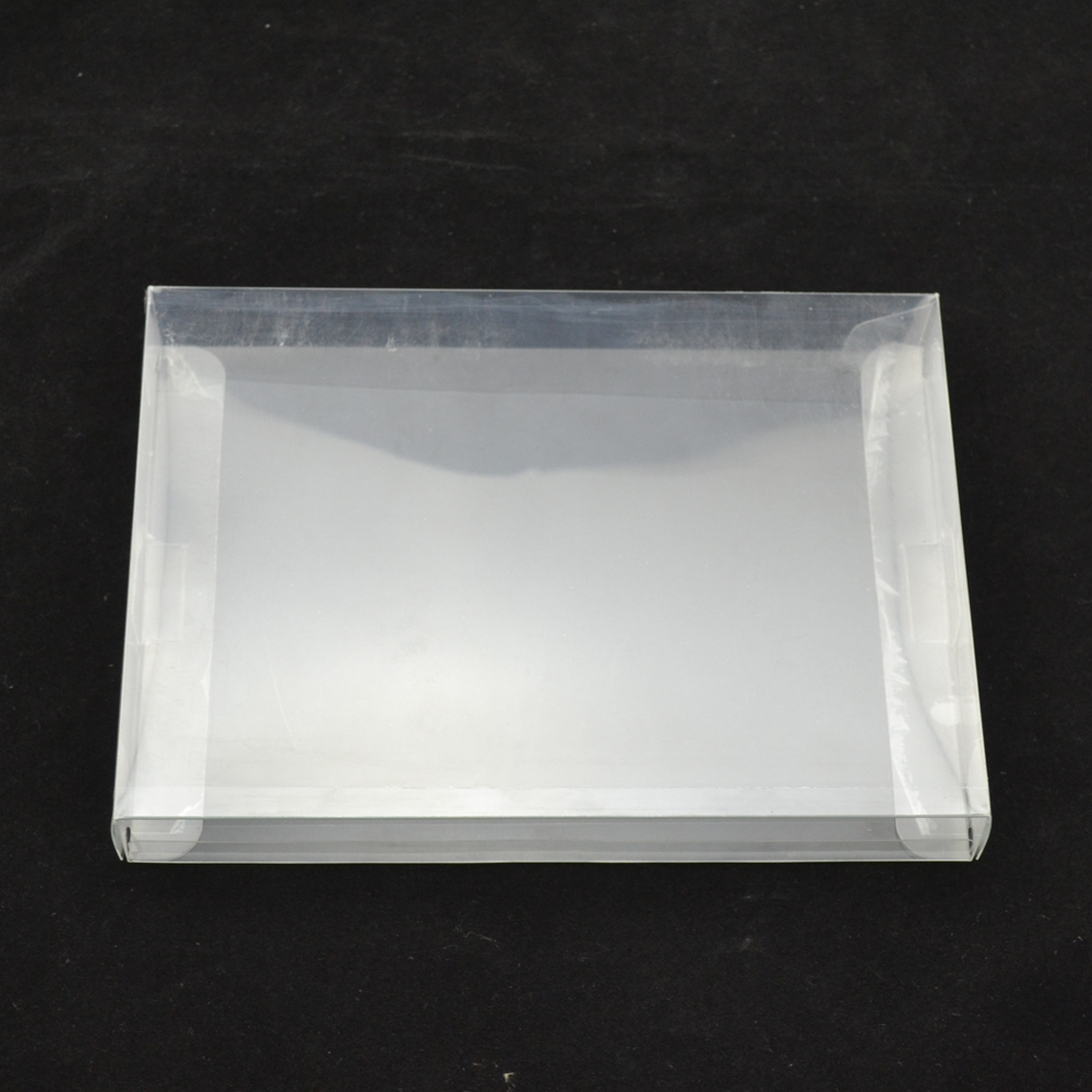 High Quality Retail Transparent Retail Protective Plastic Box Protector PET Case Shell For PAL NTSC SNES CIB Game Cartridge