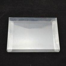 Alta qualidade de varejo de varejo Transparente shell Caso Protetor de caixa de Plástico De proteção PARA ANIMAIS de ESTIMAÇÃO para PAL NTSC CIB SNES Cartucho de Jogo