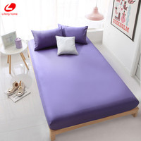 Lifeng Home 3pcs Set Fitted Sheet Set White Fitted Sheet Twin Bed Cover Queen Size Mattress