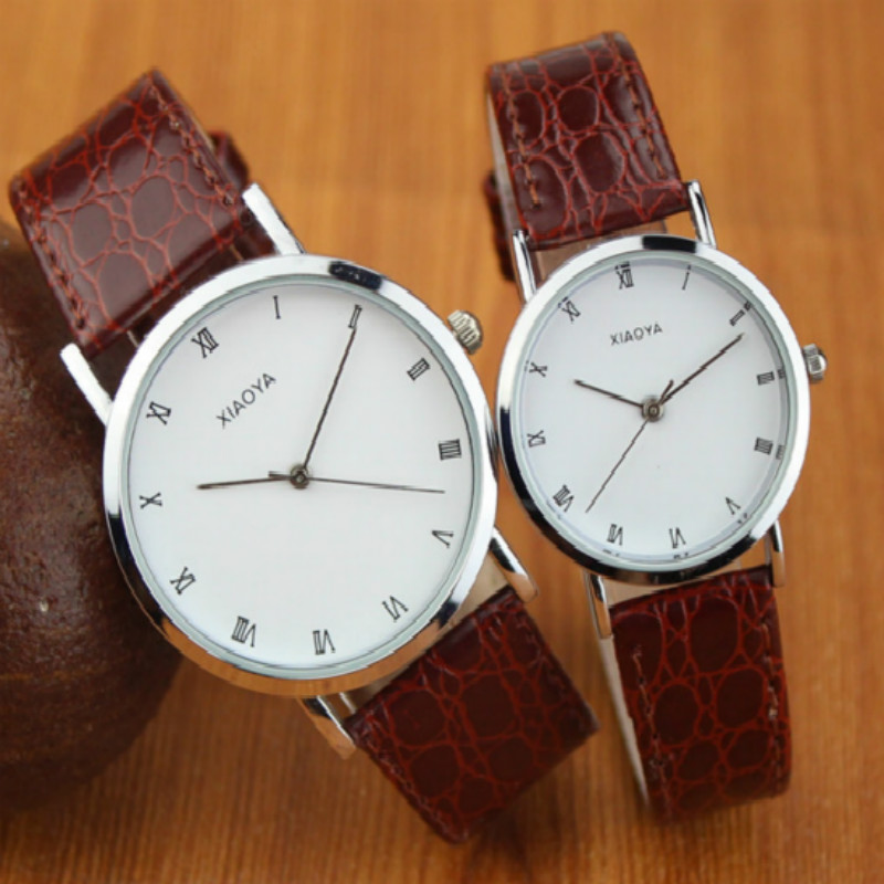 New Arrivals Luxury Watch Pair Watch Female Male Watches Lover's Watches 7color Fashion Reloj Mujer Reloj Hombre