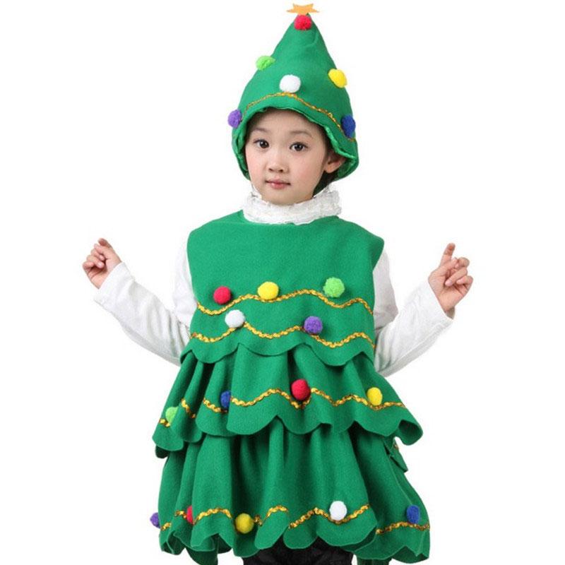 de navidad de los nios trajes de rendimiento disfraces infantiles de navidad rbol de navidad