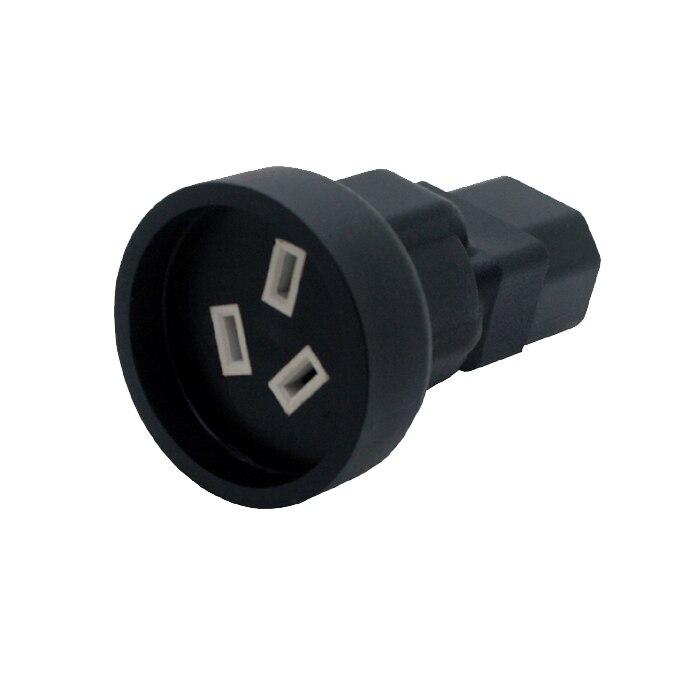 IEC 320 C13 to SAA Australia 3 pin female Power adapter for PDU UPS AC PLUG CONVERTER free shipping iec 320 c14 to saa australia 3 pin female power adapter for pdu ups ac plug converter wpt604