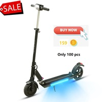 SUPERTEFF Orginal kugoo plus App smart electric scooter Bluetooth music scooter with LED light e scooter 350W 7.8ah motor