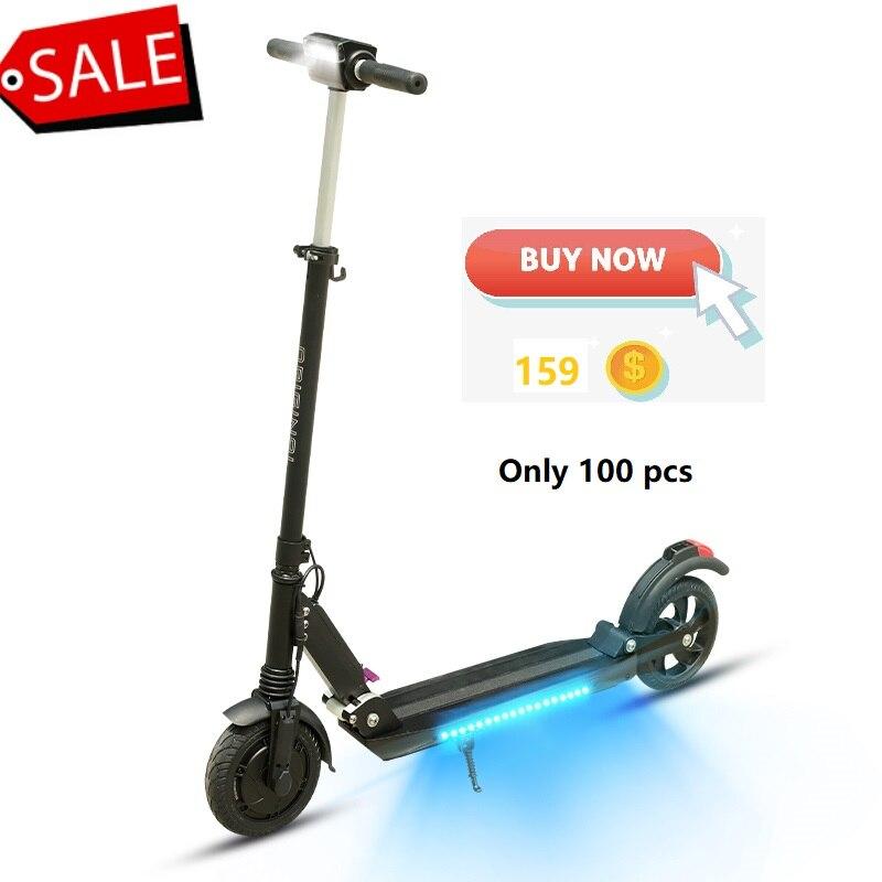 SUPERTEFF kugoo Orginal s3 plus App inteligente scooter elétrico scooter de música Bluetooth com luz LED e-scooter de 350 W 7.8ah motor