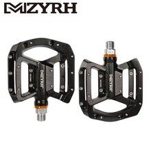 MZYRH M80 Bike Pedal Aluminum Needle Bearing Platform Anti-skid BMX MTB Bicycle Pedals mzyrh m80 bike pedal aluminum needle bearing platform anti skid bmx mtb bicycle pedals
