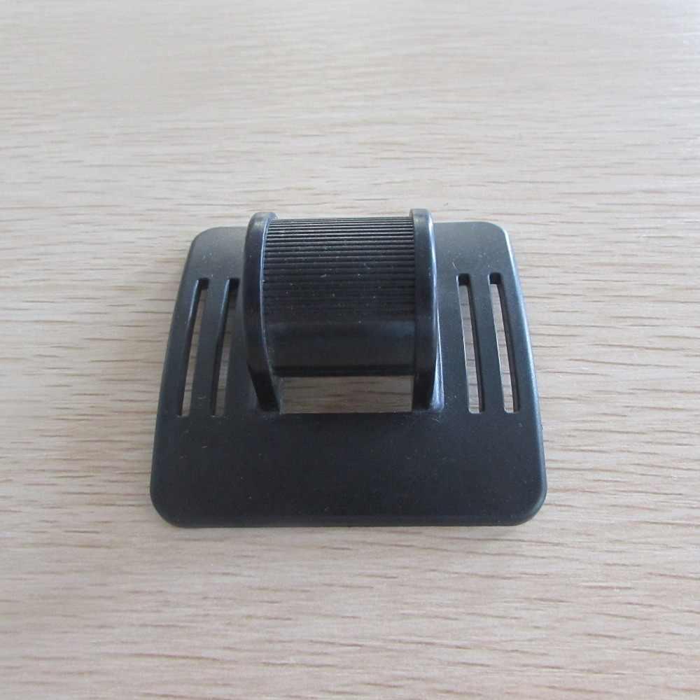 Accesorios de portabebés AINOMI Hardhat Clips, casco Vankcp Clips de plástico gancho casco duro CLIP de luz ajuste de la correa