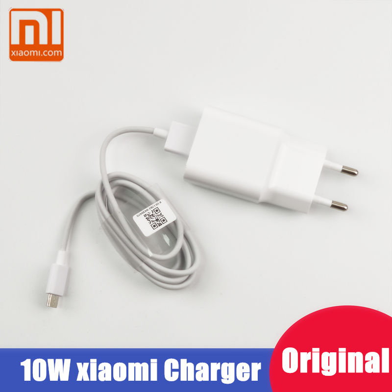 Xiaomi Charger Original For Redmi 7 6 5 6a 5a 4a Note 5 Pro mi 3 4x S2 4 10W EU Plug Mobile Phone charger charge for samsung