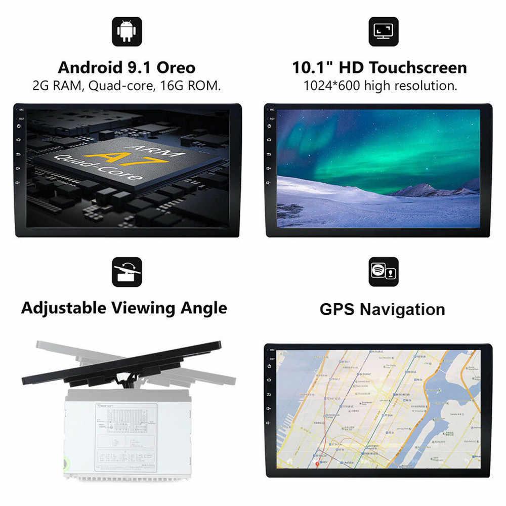 """Đa Năng Phát Thanh Xe Hơi 2 DIN Android 9.1 10.1 """"Tự Động Đa Phương Tiện GPS Nhạc Stereo Bluetooth Wifi Autoradio 2Din Âm Thanh 50"""