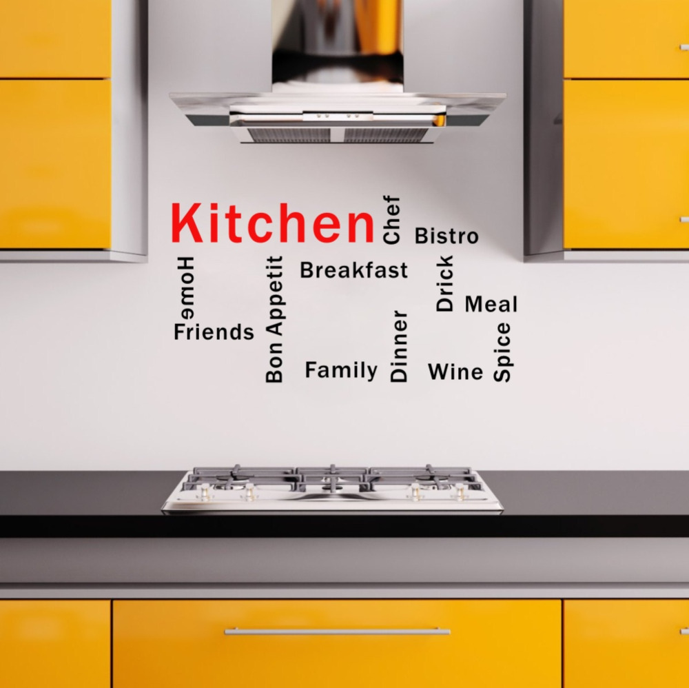 Outstanding Kitchen Words Festooning - Kitchen Cabinets | Ideas ...