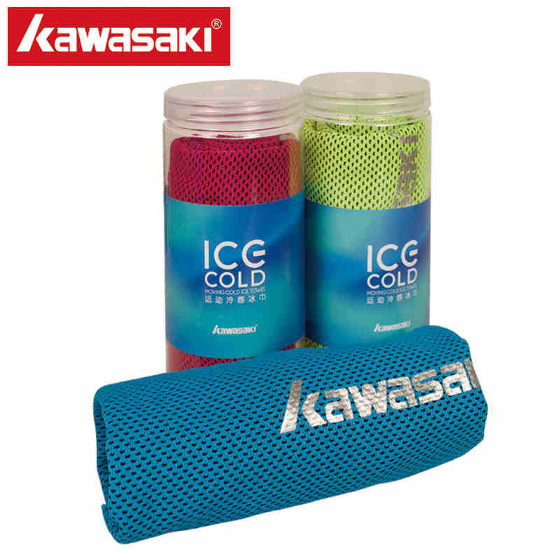 Kawasaki Cool Towel New Ice Cold Durable Running Jogging Chilly Pad Instant Cooling Outdoor Sport Towel Hot Sale 100*30CM