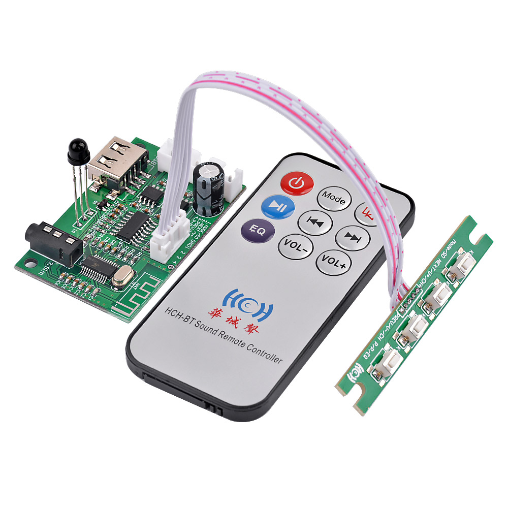 Aiyima 25w Bluetooth Amplifier Board Amplificador Stereo 5w Audio 42 Power Support Aux U Disk Usb Decoding 5v In From Consumer