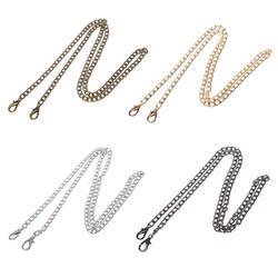 THINKTHENDO длинные 100 см роскошные модные из металла 4 цвета ремень цепи для плеча через плечо сумка кошелек интимные аксессуары