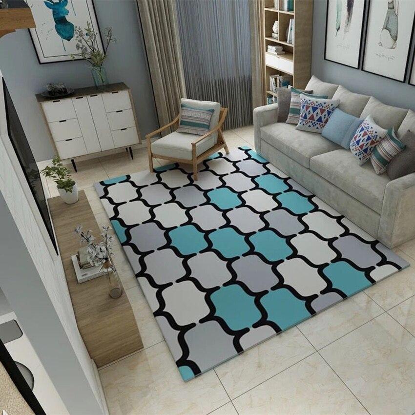 FYMX 3D imprimé tapis pour salon chambre maison grand tapis canapé sol tapis zone tapis enfants chambre tapis moderne mode décor - 2