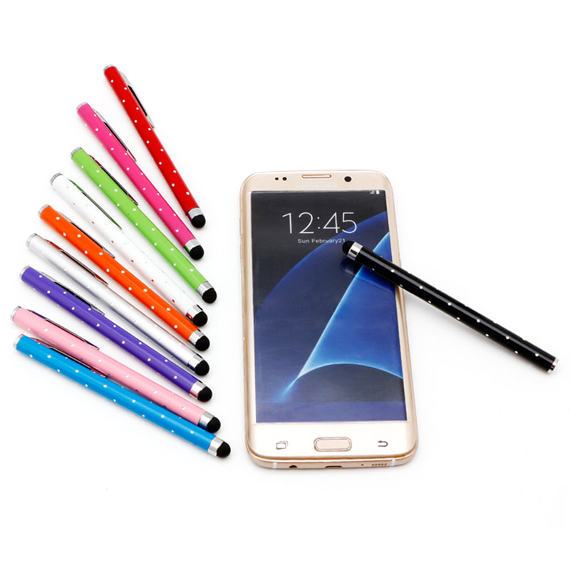 Fashion Babysbreath Universal Tablets Pen Touch Capacitance Screen Pen Stylus For iPhone iPad Samsung Phone Tablet PC DN001