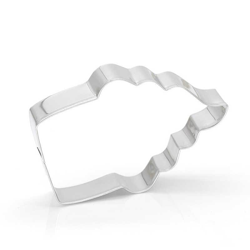 1 Buah Kue Kue Cetakan Cutter Stainless Steel Torch Bentuk DIY Fondant Biskuit Baking TT-Terbaik