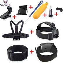 Gopro Hero Accessories Set Helmet Harness Chest Belt Head Mount Strap For Go pro hero 4 3+2 sj4000 sport camera xiaomi yi GS30 цена