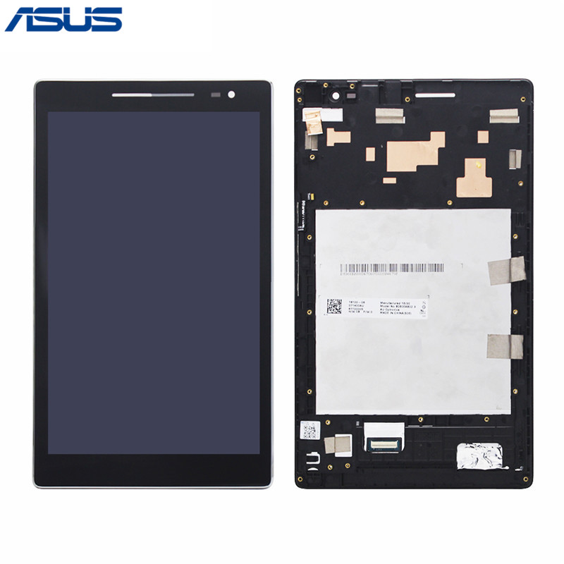 Asus Z380 LCD Display Touch Screen Assembly With Frame Replacement For Asus Zenpad 8.0 Z380 Z380C Z380CX Z380KL LCD screen in stock black zenfone 6 lcd display and touch screen assembly with frame for asus zenfone 6 free shipping