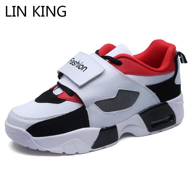 Big Sale #9620f LIN KING Breathable Men Sneakers Low Top