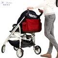 Melhor Carrinho De Bebê Saco de Múmia saco de Fraldas Fralda Bolsa do Hospital com Almofada Em Mudança Do Bebê Coisas Organizador Maternidade Sacos de Bebê para A Mãe