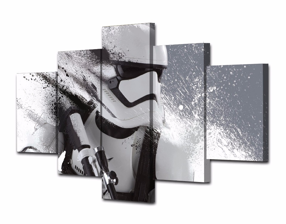 5-Piece-Printed-Star-Wars-Stormtrooper-Movie-Poster-Canvas-Painting-Wall-Pictures-For-Living-Room-Decorative (2)