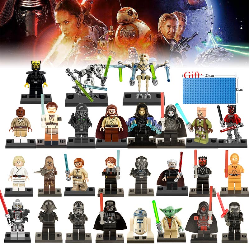27pcs-lot-star-wars-the-last-jedi-yoda-obi-wan-darth-vader-storm-building-blocks-compatible-with-legoed-font-b-starwars-b-font-toys