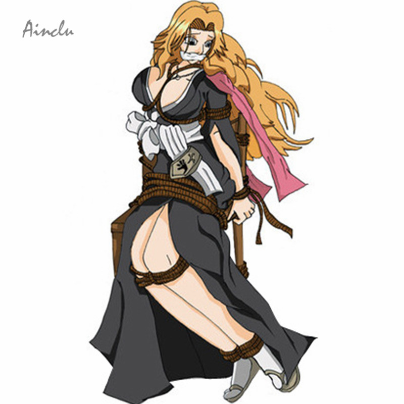 Ainclu Free Shipping Anime Products Bleach Rangiku Women's Cosplay Costume For Halloween Christmax