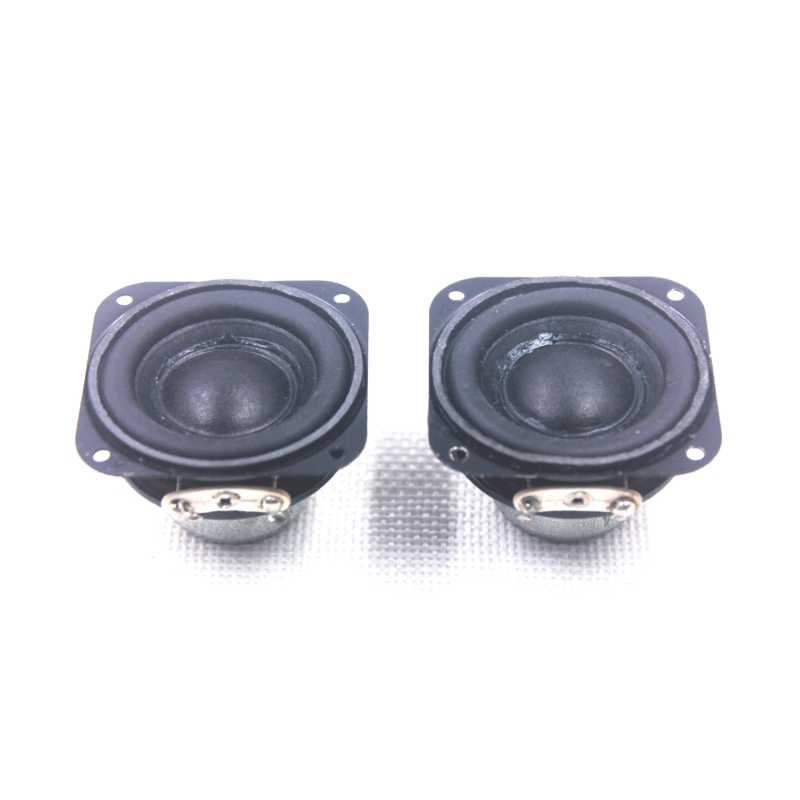 MACGARSEN 2pcs 1 5 inch Waterproof Speaker 4 ohm 5W DIY Mini