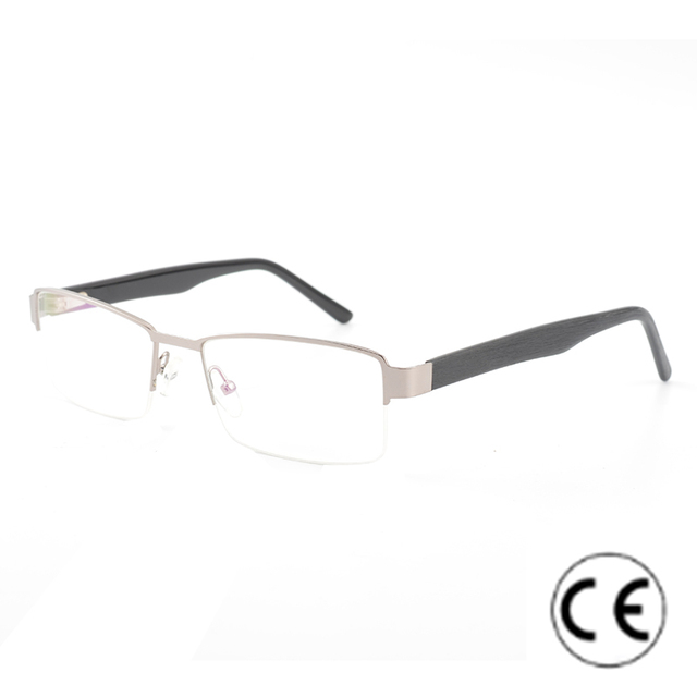 0f8b4671d27 CARDINAL Men Metal Computer Goggles Myopia Glasses Frames Eyewear Frame  Prescription Eyeglasses For Male Stainless High Quality