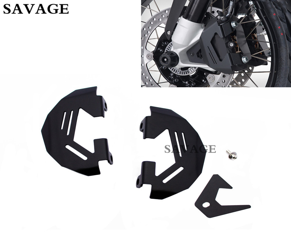 Motorcycle Black Front Brake Caliper Cover Protection Cover Guard For B M W R1200GS LC 2013-2015 R1200GS ADV 2014-2015 motorcycle couple kit handlebar riser handle bar clamp extend adapter for b m w r1200gs r1200 gs lc adv 2014 2015 2016