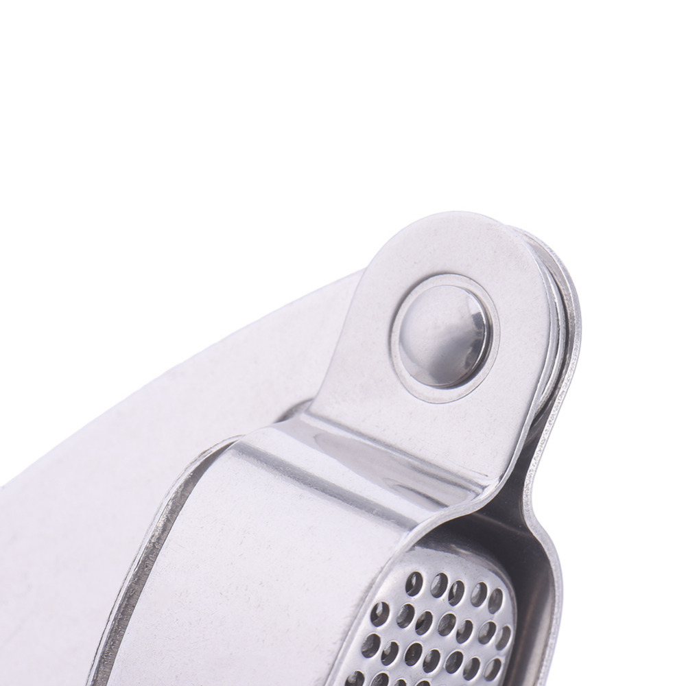 Garlic Presses Bright Hot Sale Stainless Steel Ginger Garlic Grinding Grater Kitchen Squeeze Tool Crusher Garlic Presses Cooking Kitchen Accessories