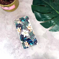 From Jenny Flower Green Leaves Soft Phone Case For Iphone 6 6 6plus 6s 6s 7