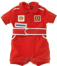 fashion Summer New Baby boys Kids Clothing short red Racing style Romper free shipping