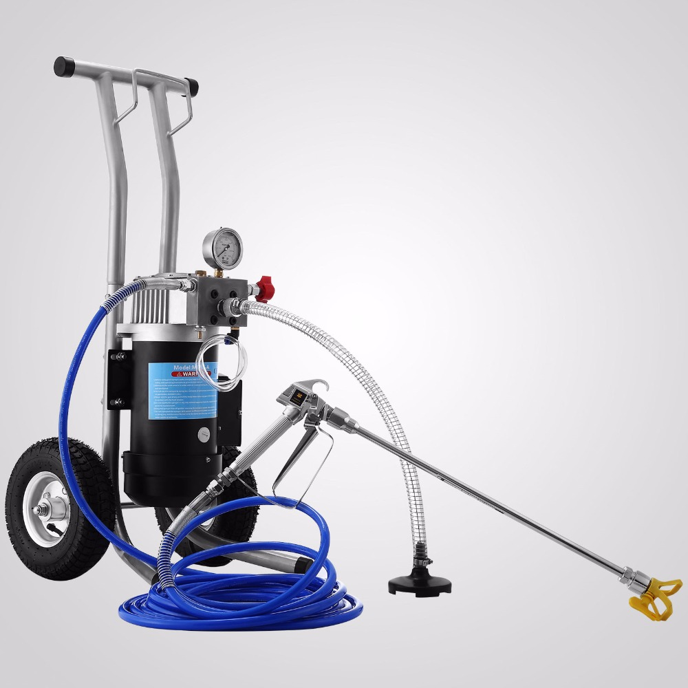 NEW 3.5HP Airless Paint Sprayer DIY 3.8L/min Spray Gun Painting Machine