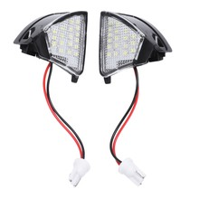 2x Error Free Led Side Mirror Puddle Light For V-w Golf 5 Mk5 Mkv For Passat B6 Je-tta Eos(China)