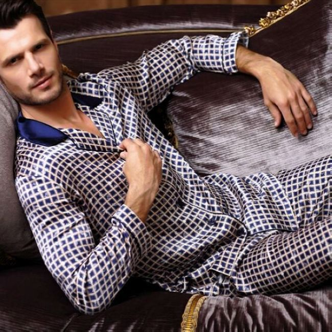 Popular Cheap Silk Pajamas for Men-Buy Cheap Cheap Silk Pajamas ...