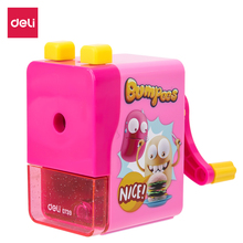 DELI E0739 Rotary pencil sharpener pencil cutter Mechanical sharpener knife smooth sharpening school accessories stationery deli 0665 magic pencil sharpener machanical school stationery rudder sharpener sweet hand roll kids cute gift brands