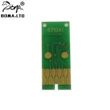 цена на T6710 Maintenance Tank Chip For EPSON WF-R5190 WF-5110 WP-4090 WP-4590 WP-4520 WP-4530 WP-4533 WP-4540 Waste Ink Tank Chip