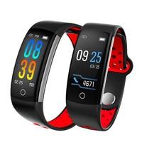 Q6 Smart Bracelet Fitness Tracker Heart Rate Monitor Blood Pressure IP68 Waterproof Activity Tracker Wristband
