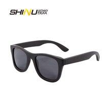 wood sunglasses polarized bamboo men's designer sun glasses with box sports oculos de sol masculino z6016